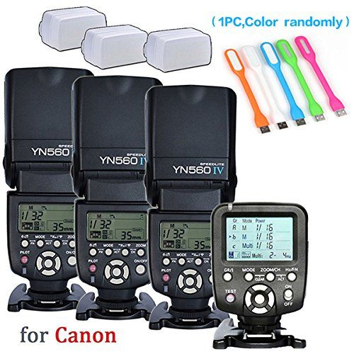 Yongnuo 3PCS YN-560IV Manual Flash Speedlite Light + YN56... https://www.amazon.com/dp/B01C3Y4LT6/ref=cm_sw_r_pi_dp_x_C4ucAbH8CCEMB
