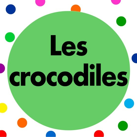 French children's song.  Sing along to Les crocodiles song with lyrics.