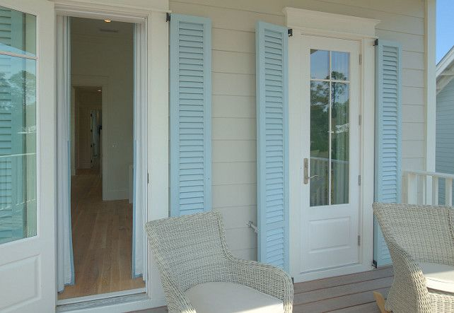 turquoise shutters beach house shutter paint color christ