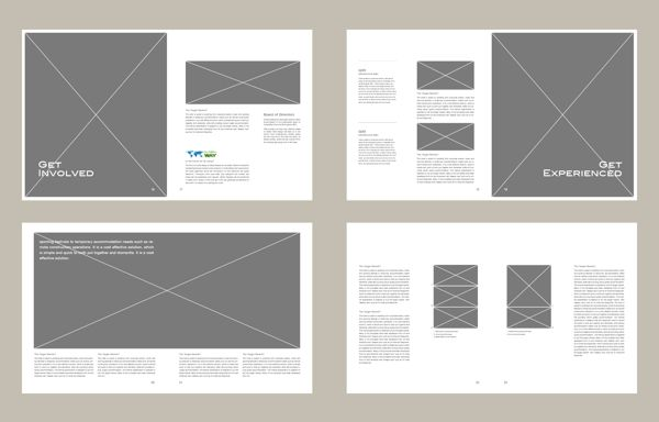 Hotel Planning Brochure Layout on Behance