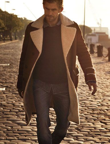 Shearling coats! Always appropriate. Casual or dressy.: 2013, Fresh Coat, Fashion Man, Daily Details, Mens Shearling Coat, Shearling Coats, Sheerling Coats, Gentelmanly Style