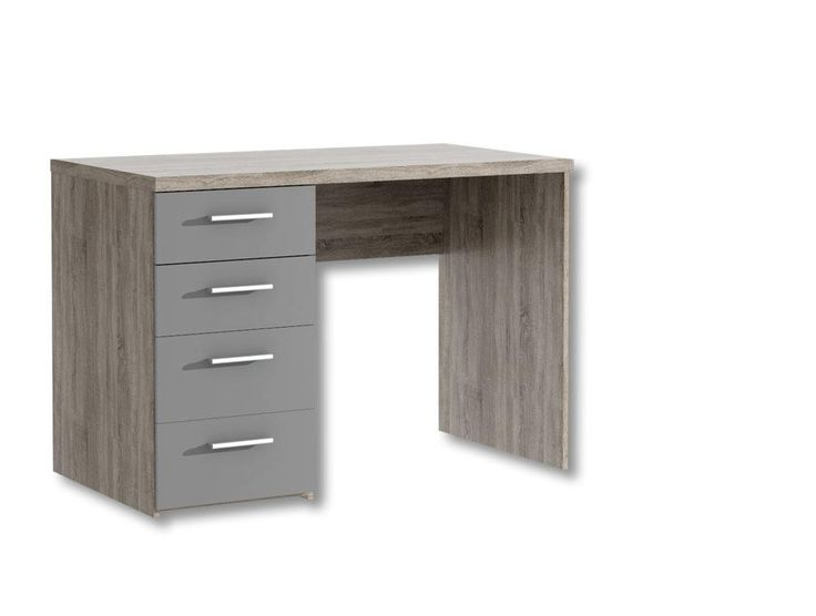 Produkt Detailinformationen: 1 x Schreibtisch mit 4 Schubkästen, B/H/T ca. 110/76,3/60 cm Artikel: JMB24 Colli: 1 Gewicht in Kg: 39 #schreibtisch #kinder #jugendzimmer