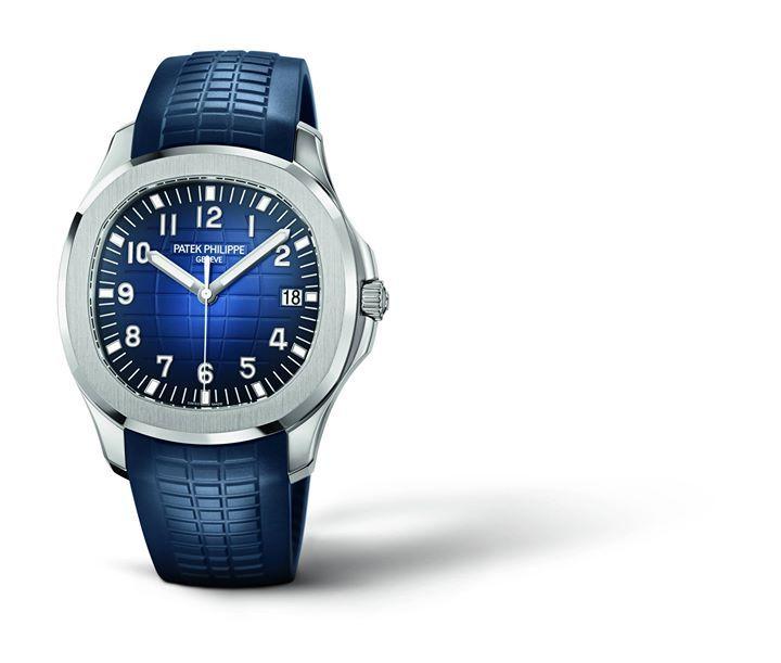 Los relojes más bonitos del año #TopSexyPicks2017  Patek Philippe: Aquanaut Ref. 5168G.