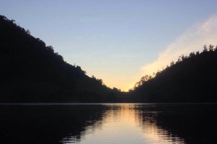 Before sun rise at Ranu Kumbolo, mt.Semeru. Lumajang-East Java