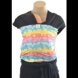Rainbow Designer Snuggle Bug Wrap