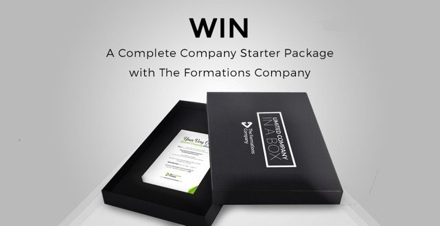 Win a Complete Company Starter Package with The Formations Company