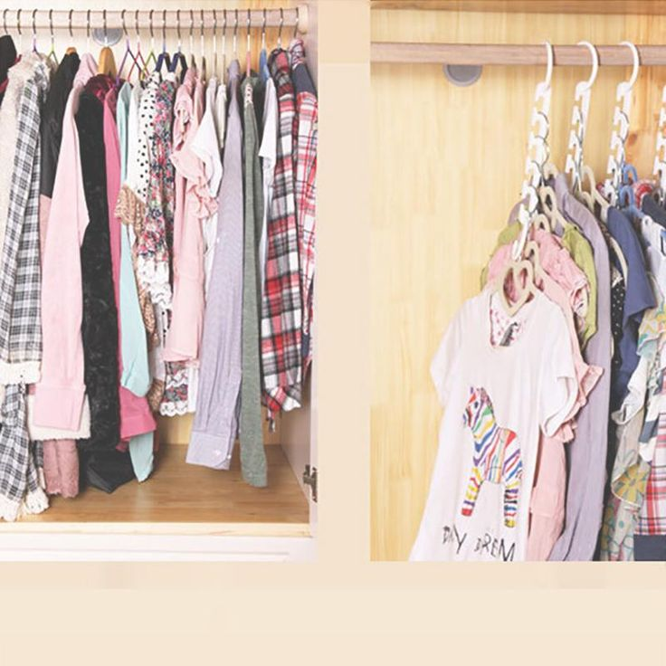 Best 25+ Space Saving Hangers Ideas On Pinterest