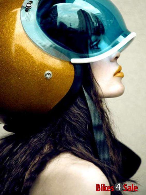 Biker Helmet Girls