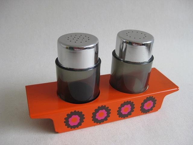 Funky Vintage Brabantia Salt& Pepper Shakers by sticknobills, via Flickr