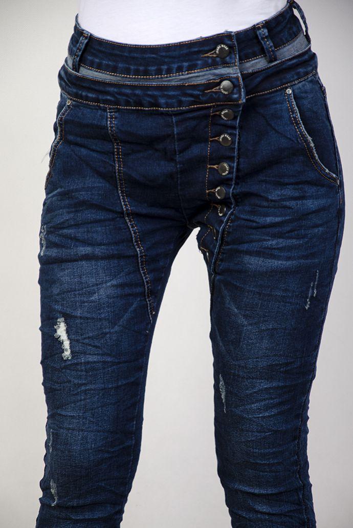 Spodnie jeansowe baggy