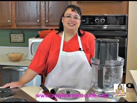 Breville Sous Chef Food Processor Test and Review BFP800XL. Please share and subscribe to Amy Learns to Cook: www.youtube.com/amylearnstocook