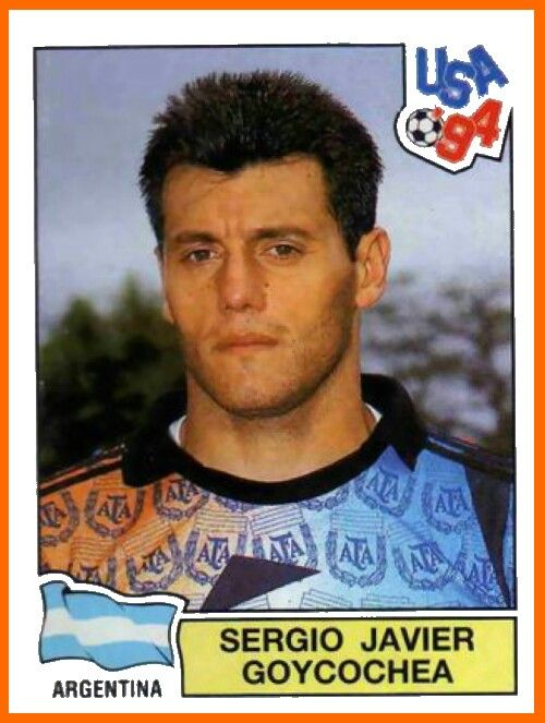 Sergio Goycochea of Argentina. 1994 World Cup Finals card.