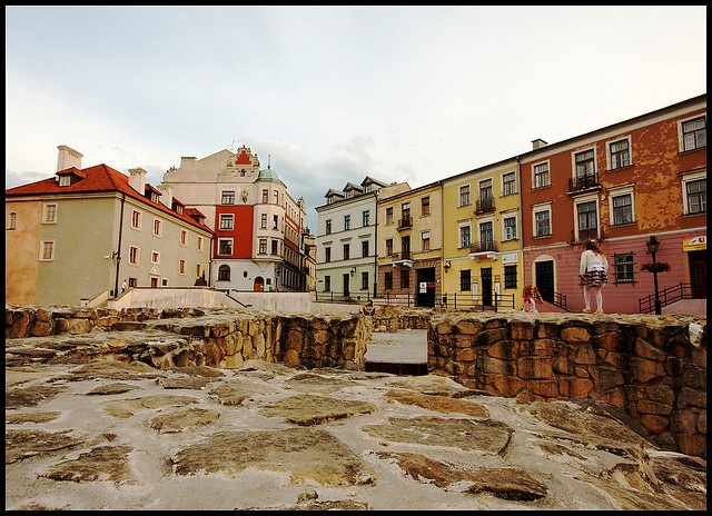 Colourful Old town in Lublin