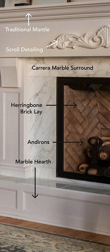 picture explaining the details of a custom fireplace