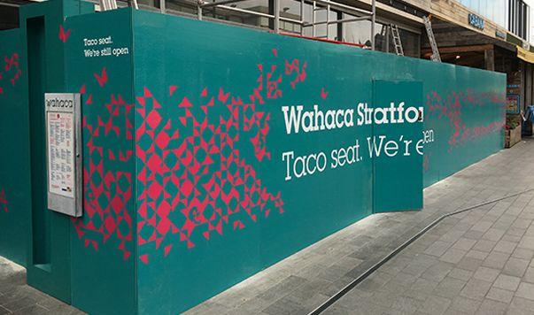 Creative hoarding print in London by Lavastar