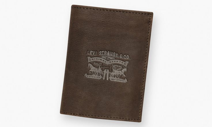Two Horse Pull Vertical Wallet | Dark Brown |Levi's® France (FR)