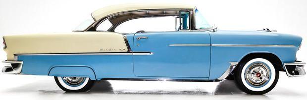 1955 Chevrolet Bel Air side view