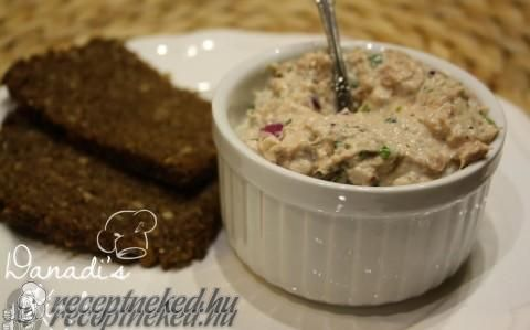 Legfinomabb tonhalkrém recept fotóval