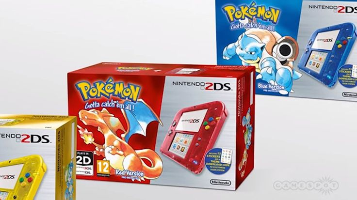 Pokemon Red & Blue 3DS Bundle Is Coming - http://wp.me/p67gP6-4zp