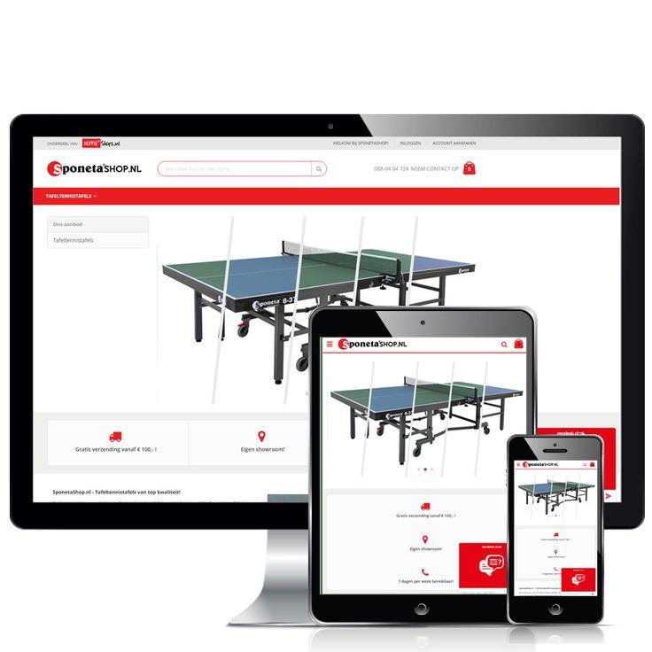 www.sponetashop.nl – Op de vernieuwde webshop van Sponetashop vind je de beste tafeltennistafels die er zijn. Alle tafels zijn voorzien van de Europese veiligheidsnorm voor tafeltennistafels, de kwaliteit is dus ook van een hoog niveau! Neem dus snel een kijkje in onze webshop.  Volg Hoppashops ook op: Instagram - https://www.instagram.com/hoppashops/
