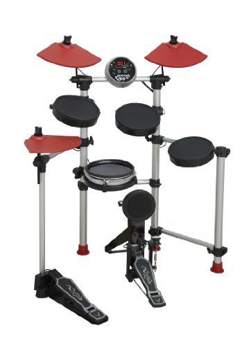 Medeli DD501 Electronic Drum Set by Medeli. $499.00. The Medeli DD501 Electronic Drum Set Features 4 Drum Pads, 3 Cymbal Pads a Hi-Hat Pedal and a Bass Drum Pad. There are 215 Voices, 20 Drum Kits, 50 Patterns and a Demo Song.