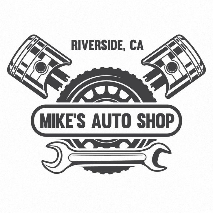 Car Service, Auto Repair, Mechanic Company Name Truck
