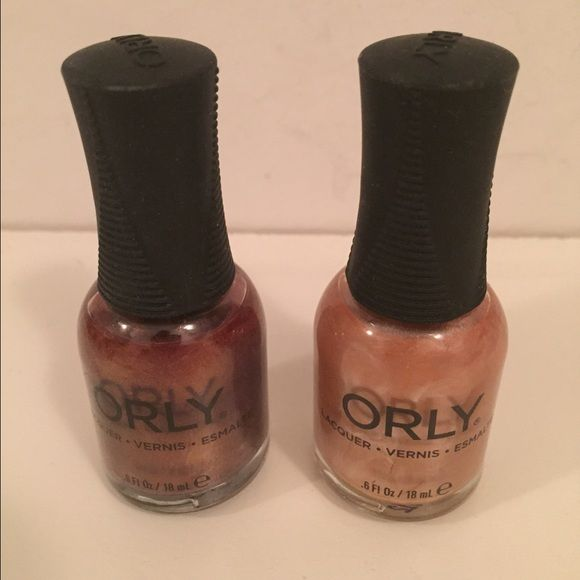 Orly nail polish  Orly polishes. Used one time. Fantasea. Chantilly Peach. Price is per polish. Orly Other