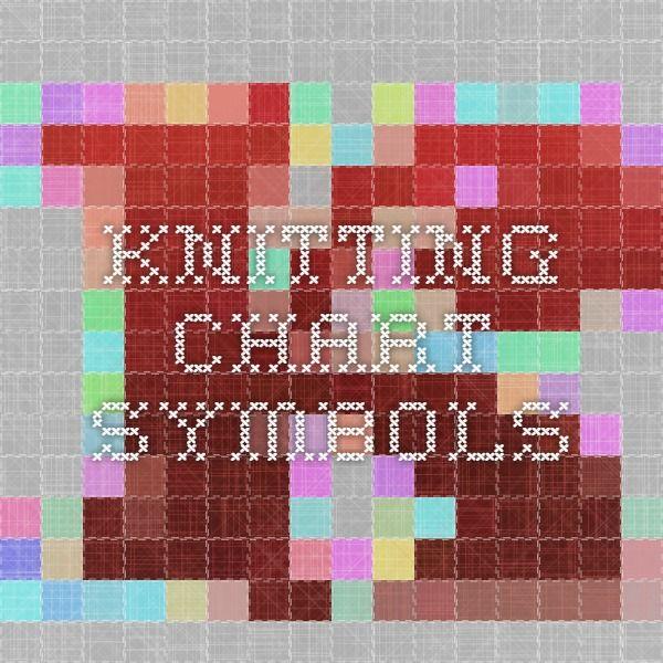 Knitting Chart Symbols