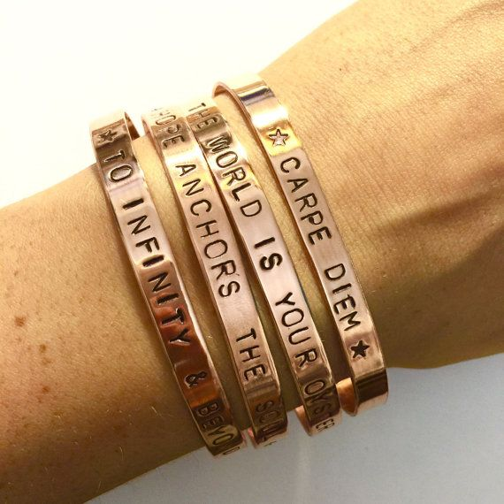personalised+copper+cuff+handmade+by+TheBeadPotCanterbury+on+Etsy