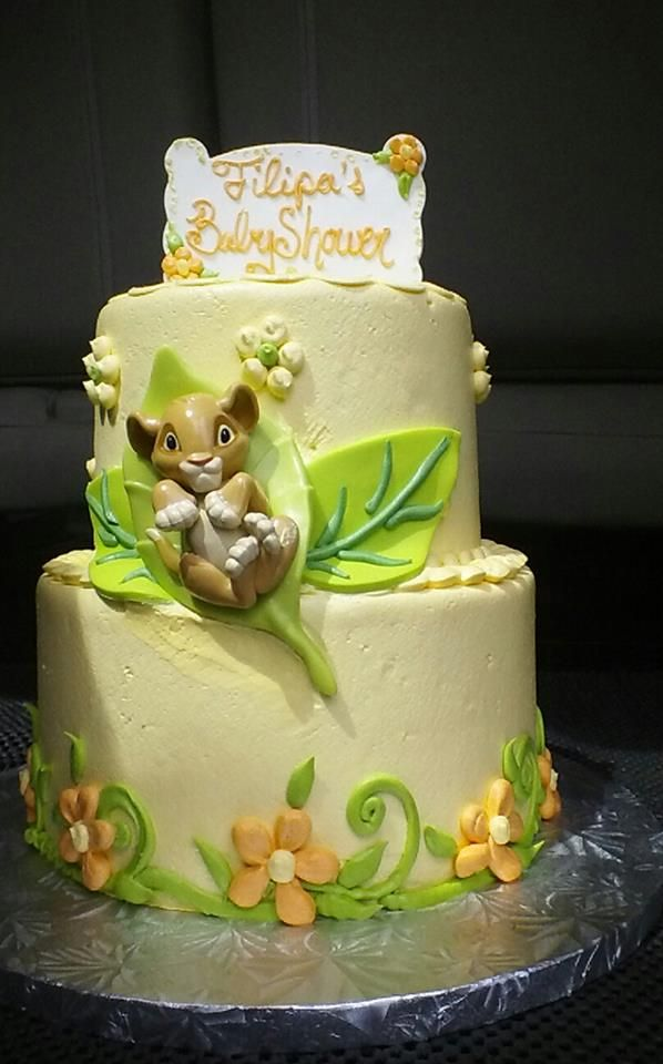 Lion King Baby Shower Cake Baby Shower Pinterest