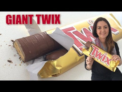 World's Biggest Snickers Bar Recipe 5lbs HOW TO COOK THAT giant candy bar Ann Reardon - YouTube