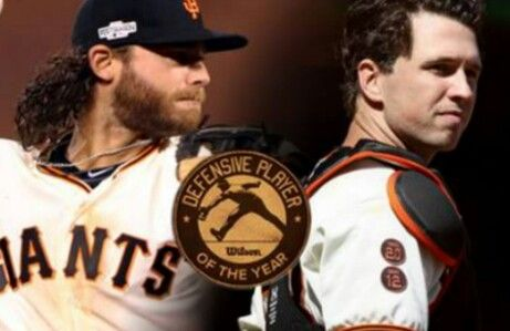 Buster Posey & Brandon Crawford are Wilson Top Defensive Players of 2016