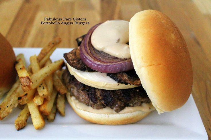 Portobello Angus Burgers