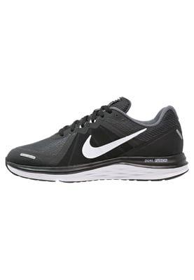 Sportschoenen Nike Performance DUAL FUSION X 2 - Demping hardloopschoenen - black/white/dark grey Zwart: € 79,95 Bij Zalando (op 18-5-16). Gratis bezorging & retournering, snelle levering en veilig betalen!