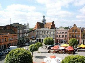 Kościerzyna - Zespół urbanistyczny miasta. Atrakcje turystyczne Kościerzyny. Ciekawe miejsca Kościerzyny