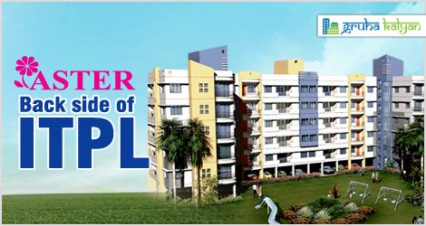 Gruha Kalyan ASTER at ITPL Lowest Price in Bangalore 1,2& 3BHK Flats/Apartments Available Price Starts from 14.30 Lakhs Onwards