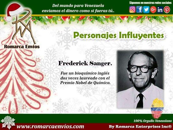 Frederick Sanger,fue unbioquímicoinglésdos veces laureado con elPremio Nobel de Química. Fue la cuarta persona del mundo en recibir dos premios Nobel, trasMarie Curie,Linus PaulingyJohn Bardeen. Sanger determinó la secuencia de losaminoácidosde lainsulinaen 1953. Al hacerlo, demostró que lasproteínastienen estructuras específicas.