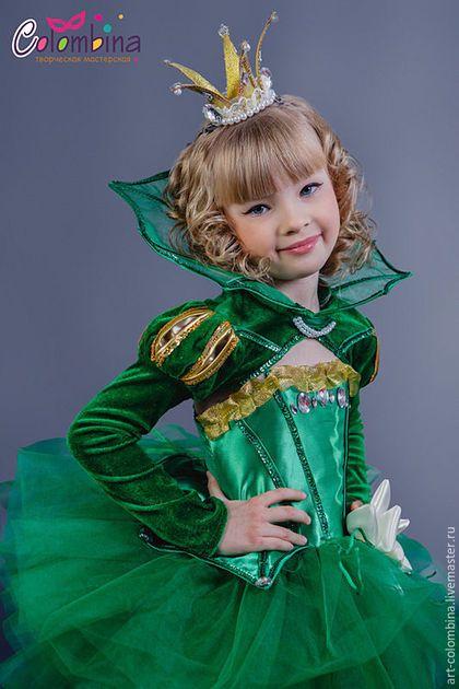 Купить или заказать Костюм лягушки в интернет-магазине на Ярмарке Мастеров. карнавальный костюм лягушки для девочки комплектация: платье, болеро, корона 134-146 +300 рублей сапожки продаются…