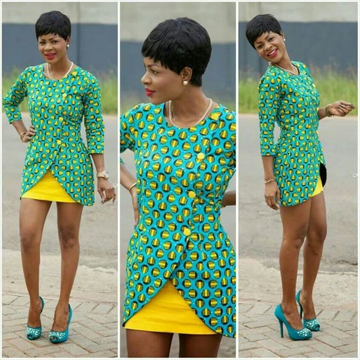 African print asymmetrical.ntoma blazer and skirt ~Latest African Fashion, African Prints, African fashion styles, African clothing, Nigerian style, Ghanaian fashion, African women dresses, African Bags, African shoes, Nigerian fashion, Ankara, Kitenge, Aso okè, Kenté, brocade. ~DK