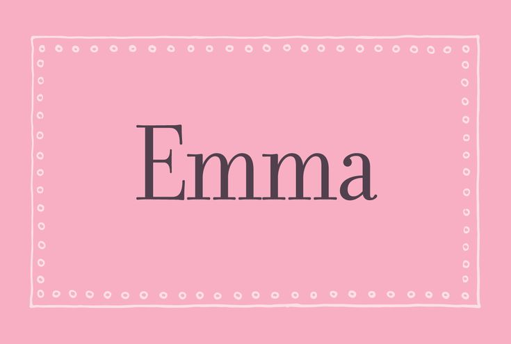 A popular little girls name, Emma, pronounced 'EM-ah', has German origins meaning 'healer of the universe'. Follow the link www.littlebundlenames.com to try out our very own baby name generator. At the moment over 600 names are in the Little Bundle database, each one hand chosen and researched to work on our very own baby name generator. More illustrations will be added weekly, but for now if you could give the site a like and a share that would be absolutely amazing. #Emma #baby #momtobe