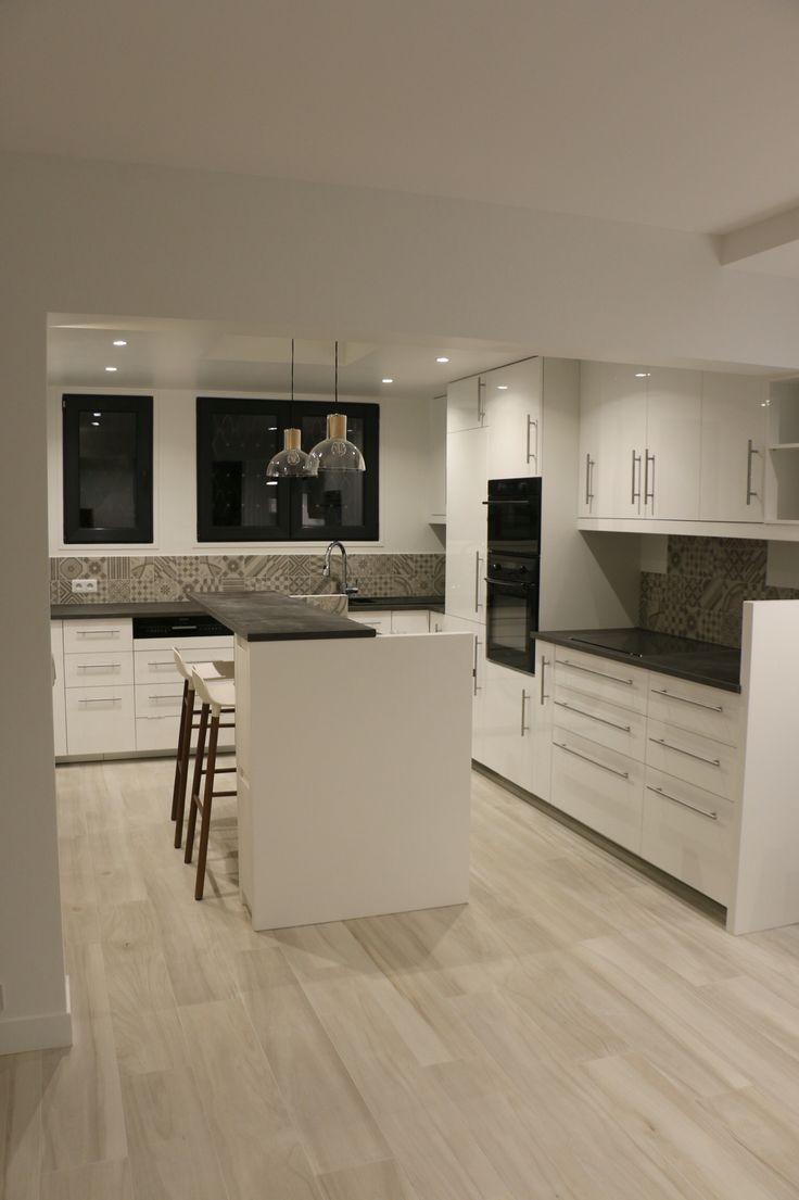 best 25 plan de travail gris ideas on pinterest. Black Bedroom Furniture Sets. Home Design Ideas
