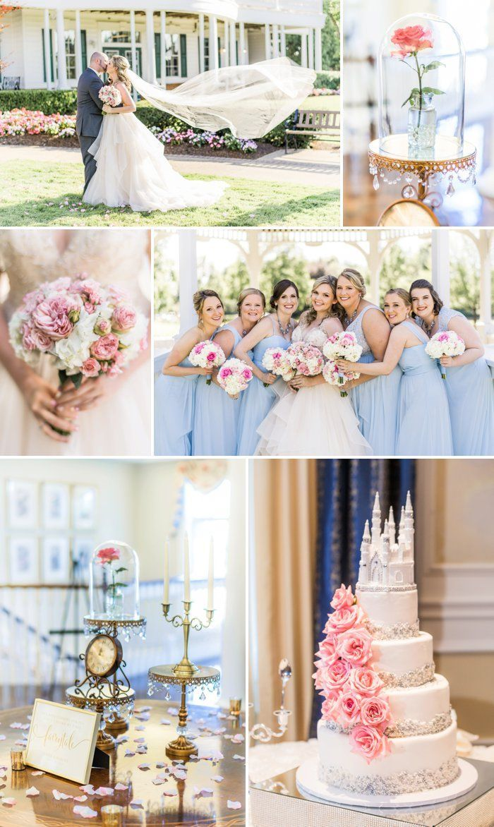 Classic Disney Inspired Wedding At The Heritage Country Club In 2020 Fairytale Wedding Inspiration Disney Wedding Theme Wedding Inspiration