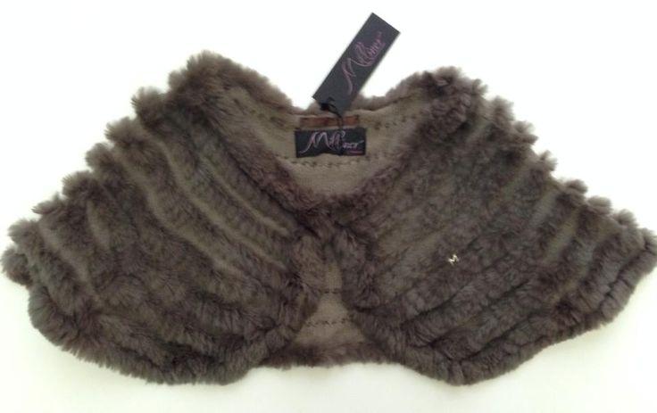 Coprispalle in maglia e lapin con manica acquistabile on line su www.la-borsa.it