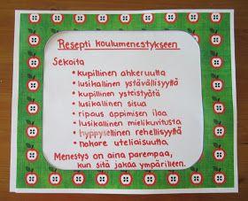 Open ideat: Koulun aloitus 1. luokalla