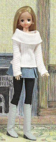 「パプペポ- Japanese site for fashion doll patterns. Not in English, but lots of pictures.