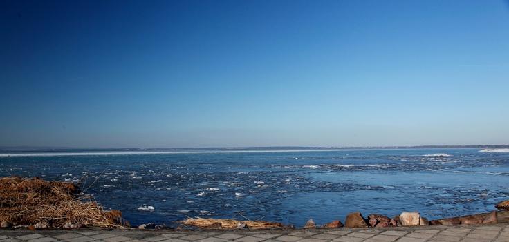 lake Balaton - winter