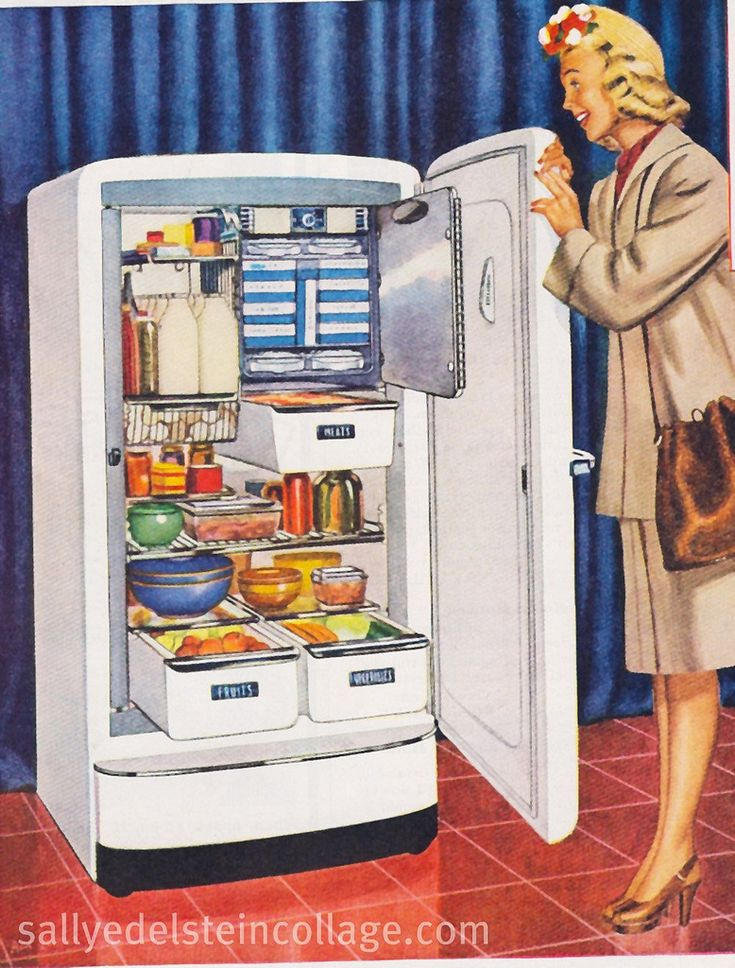 Refrigerator Ad G E 1947 Vintage Appliance Ads In 2019