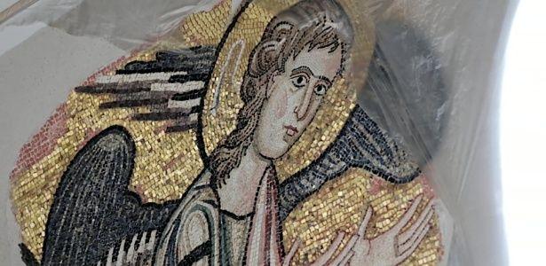 Anjo escondido é encontrado em mosaico no local onde Jesus nasceu