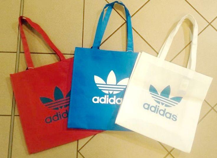 Taky máte rádi tyto praktické nákupní tašky Adidas?   www.xtremeshop.cz