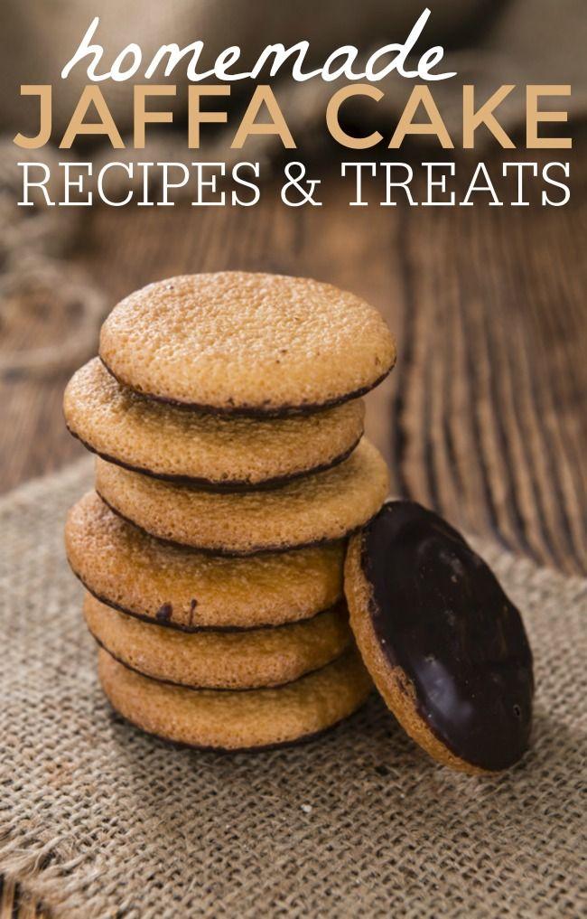Jaffa cake biscuits recipe